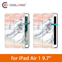soft tpu Marble Pattern Tablets Case For iPad Air 1 9.7 Patchwork TPU Soft PU Leather Smart Wake Sleep Cover For iPad Air 9.7 Tablet Case (1)