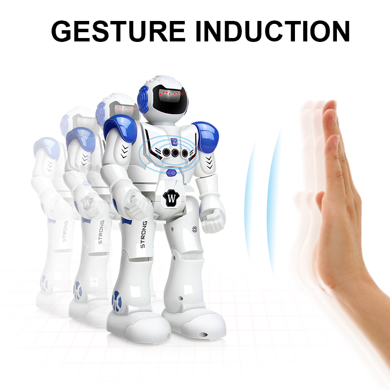 Robot Toy Remote Control Smart Action Walk Dancing Gestures Sensor Rechargeable RC Toys For Boys Children Birthday Gift Present