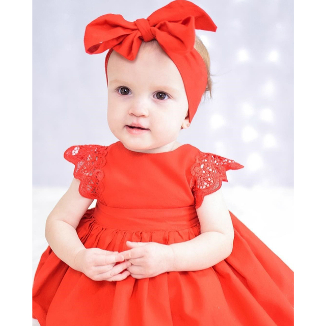 c6962f31d086b US $4.85 10% OFF|NewBorn Baby Dress Summer Cotton Lace Baby Rompers With  Headband For girls Autumn Xmas Kids Infant Clothes Baby Girls Jumpsuit-in  ...