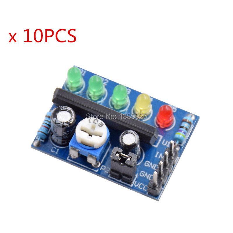 10PCS KA2284 Power level indicator Battery Pro Audio level indicator module
