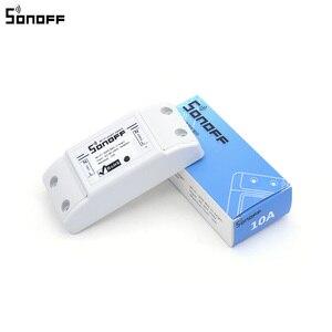 Image 4 - SONOFF módulo de automatización de Control remoto para teléfonos inteligentes Apple, enchufe inalámbrico con Wifi, 10A, 220V, 20 uds.