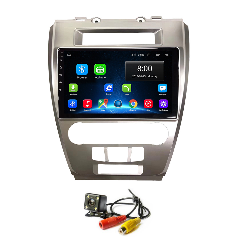Android 8.1 Car DVD Radio for <font><b>Ford</b></font> Fusion/<font><b>Mondeo</b></font> 2009 <font><b>2010</b></font> 2011 2012 <font><b>GPS</b></font> Navigation image