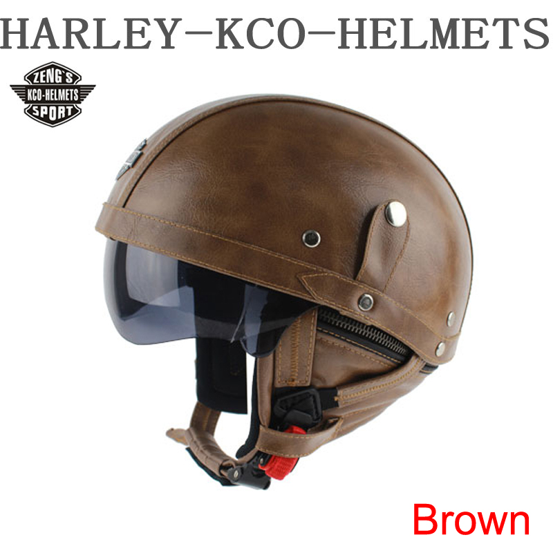 Best kco manual customization motorcycle scooter half face for Best helmet for motor scooter
