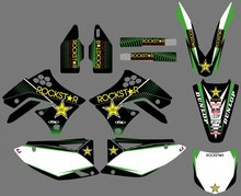 GRAPHICS & BACKGROUNDS DECALS STICKERS Kits for Kawasaki KX250F KXF250 2009 2010 2011 2012 KXF 250 KX 250F