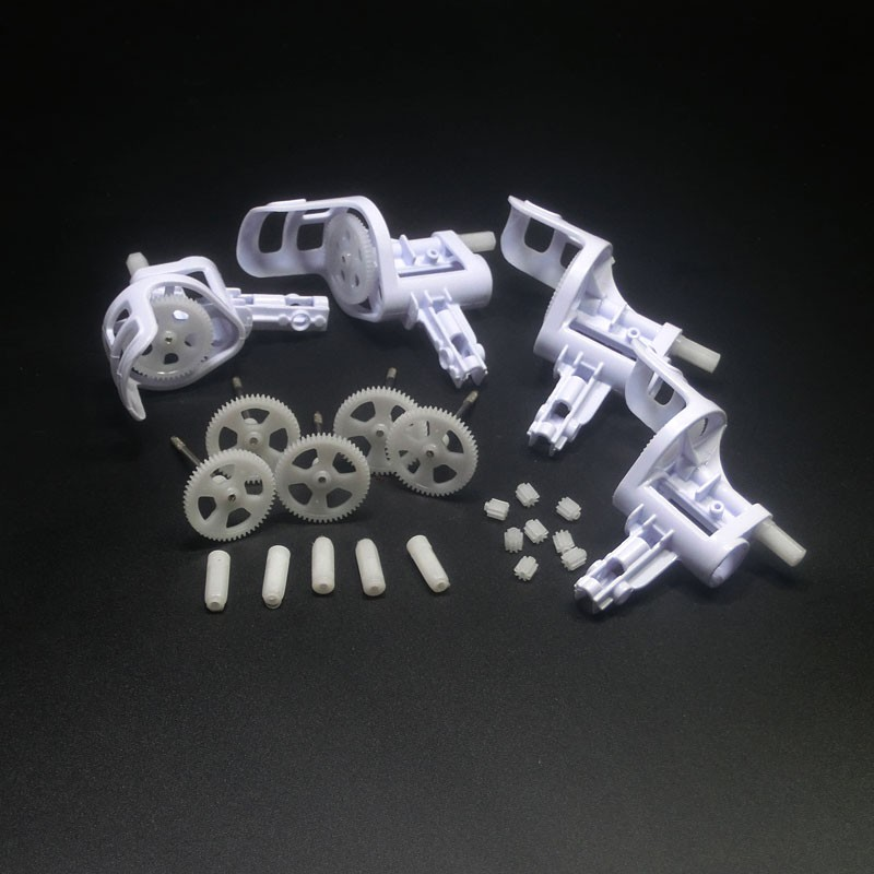 22PCS X5 <font><b>Motor</b></font> Frame Holder Main Gear <font><b>Motor</b></font> Gear Propeller Fixed Unit for SYMA X5 X5C RC Drone Spare Part Gear Set Accessory image