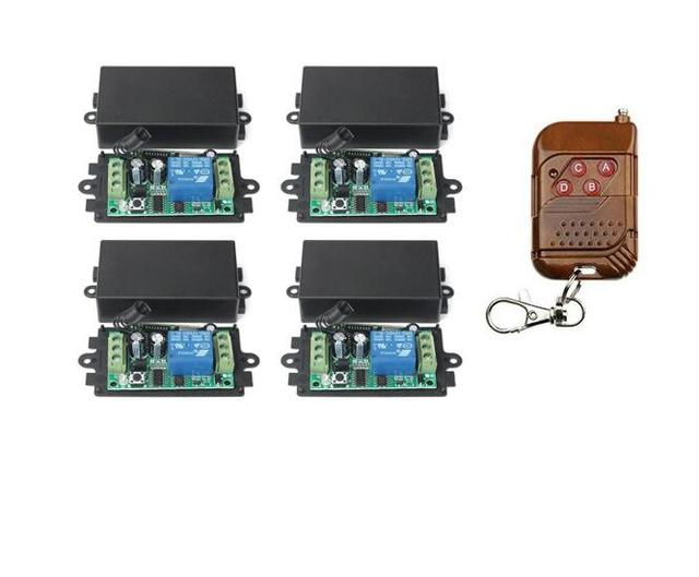 Smart Home Dc12v Radio Remote Control Switch System Receiver