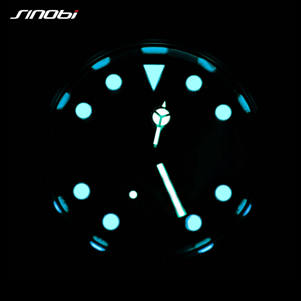 85084b4e449 SINOBI New Fashion Men s Watch Rotatable Bezel Steel Business Watch Top  Brands Luxury Quartz Watch Relogio Masculino-in Quartz Watches from Watches  on ...