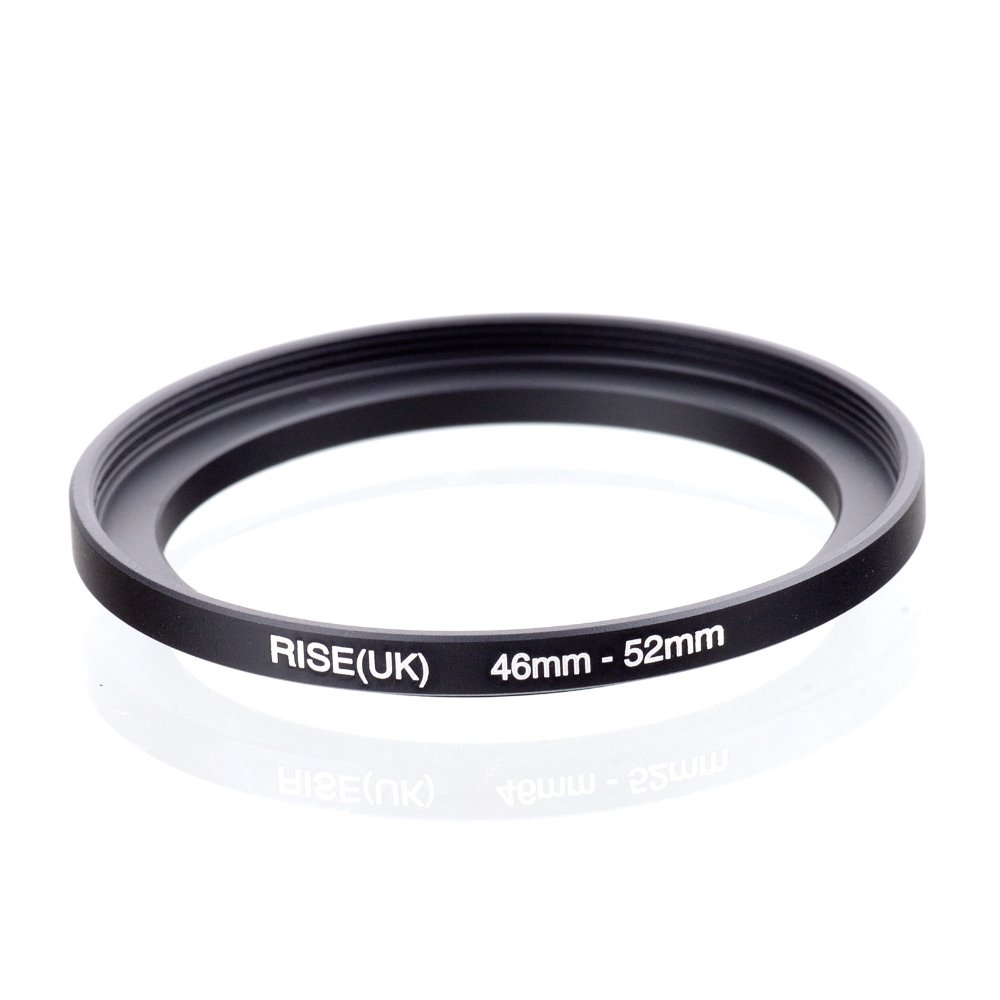 original RISE(UK) 46mm-52mm 46-52mm 46 to 52 Step Up Ring Filter Adapter black free shipping кольцо fujimi frsu 4952 step up 49 52mm