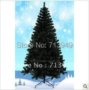 2014 hot selling 18 meters black color christmas tree pvc christmas decorations in christmas from home garden on aliexpresscom alibaba group - Christmas Tree Black