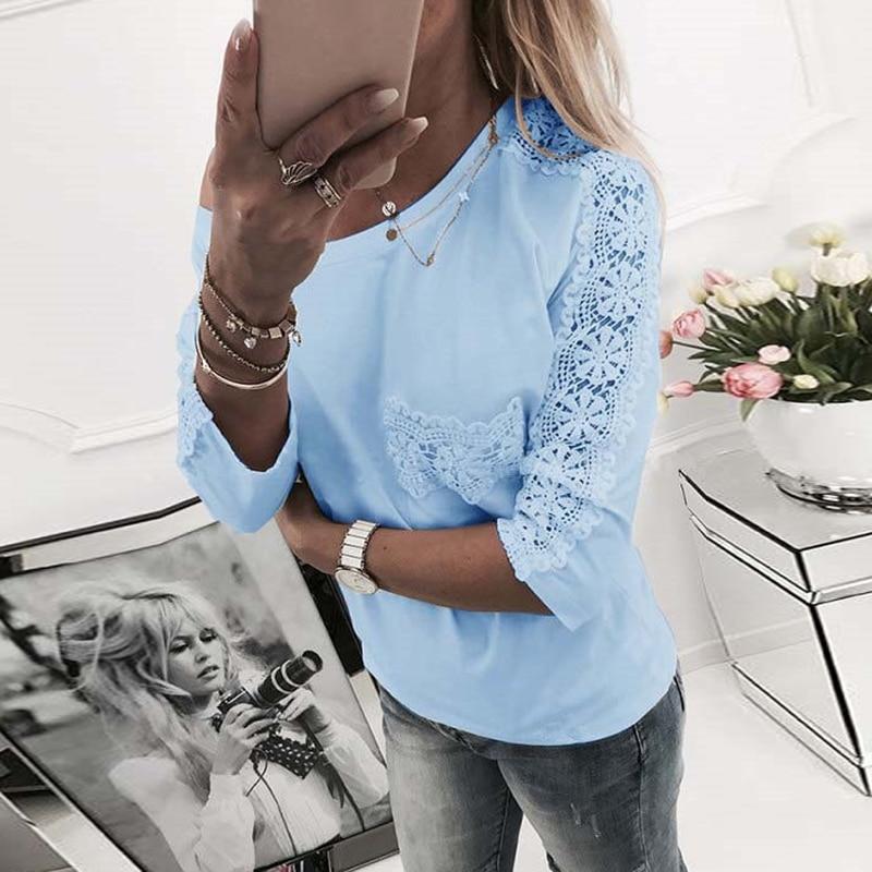 Summer Spring T Shirt Women Fashion Lace T-Shirt Sexy Half Sleeve Women T-Shrts Tee Tops WS4831R
