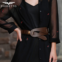 New Arrival Fashion Brand Belts For Women Genuine Leather Ladies Bests Famous Designer Luxury Waistband Wide