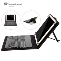 Folding Bluetooth Keyboard Case Leather Cover Folio Stand For 9 10 1 Tablet