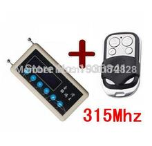 Carcode car remote control copy 315mhz car remote code scanner + 315mhz A002 car door remote control copy