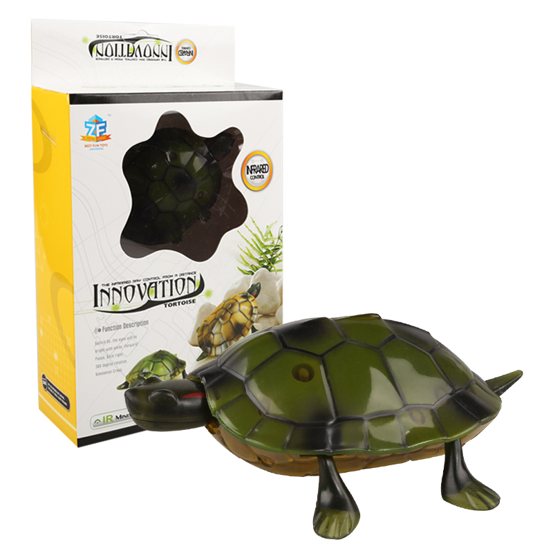 luz infravermelha brinquedo de controle remoto tartaruga 04
