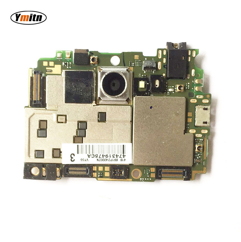 New Ymitn Housing Mobile Electronic panel mainboard <font><b>Motherboard</b></font> Circuits Cable For <font><b>Sony</b></font> <font><b>Xperia</b></font> <font><b>M2</b></font> S50h D2303 D2302 image