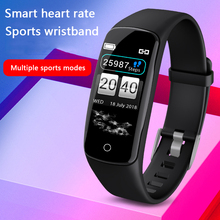 V8 Smart Wristband Health Monitor Heart rate/Blood Pressure/Pedometer/Sleep Monitor Sports Bracelet for Men Women Smart Watch