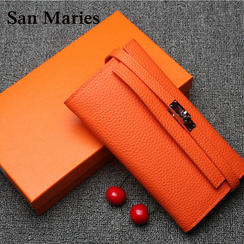 super gift luxury women designer wallet high quality