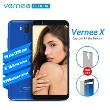 Vernee X 6GB RAM 128GB ROM смартфон 18:9 FHD 6,0 дюймовый мобильный телефон  с бадареей на 6200мАч  Android 7,1 телефон  с четырьмя камерами  Face ID
