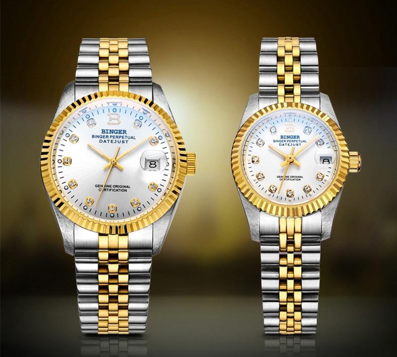 Clássico suíça marca design feminino relógios de