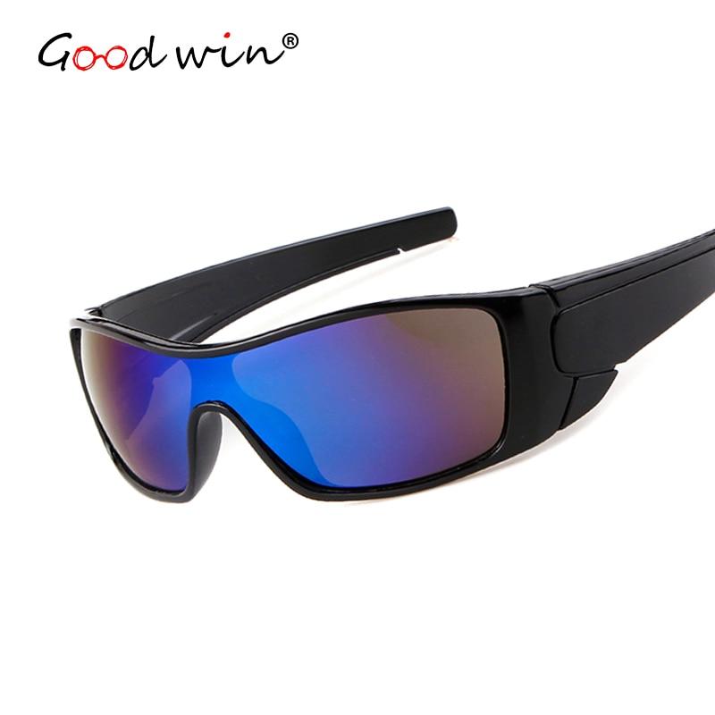 Good Win Men Goggle Sunglasses Famous Brand Designer One Piece Lens Sport Sun Glasses High Quality Male Eye Oculos Sol Masculino
