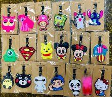 Travel Accessories Owl Luggage Tags Micky Minnie Stitch Suitcase ID Addres Holder Baggage Boarding Portable Label(China)
