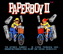 US $6 3 10% OFF|Paperboy II 16 bit MD Game Card For Sega Mega Drive For  Genesis-in Memory Cards from Consumer Electronics on Aliexpress com |  Alibaba