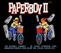Paperboy II 16 bit MD Game Card For Sega Mega Drive For Genesis