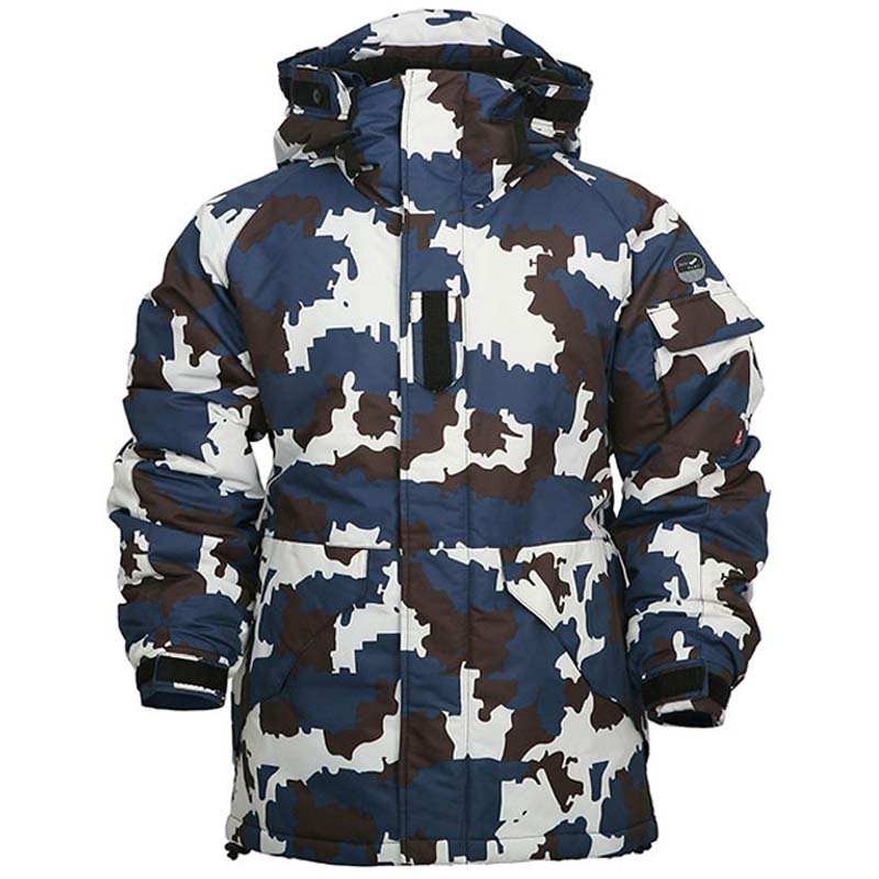 New Edition Southplay Winter Skiing & SnowBoard Water Resistant Navy Camo MilitaryJacketNew Edition Southplay Winter Skiing & SnowBoard Water Resistant Navy Camo MilitaryJacket