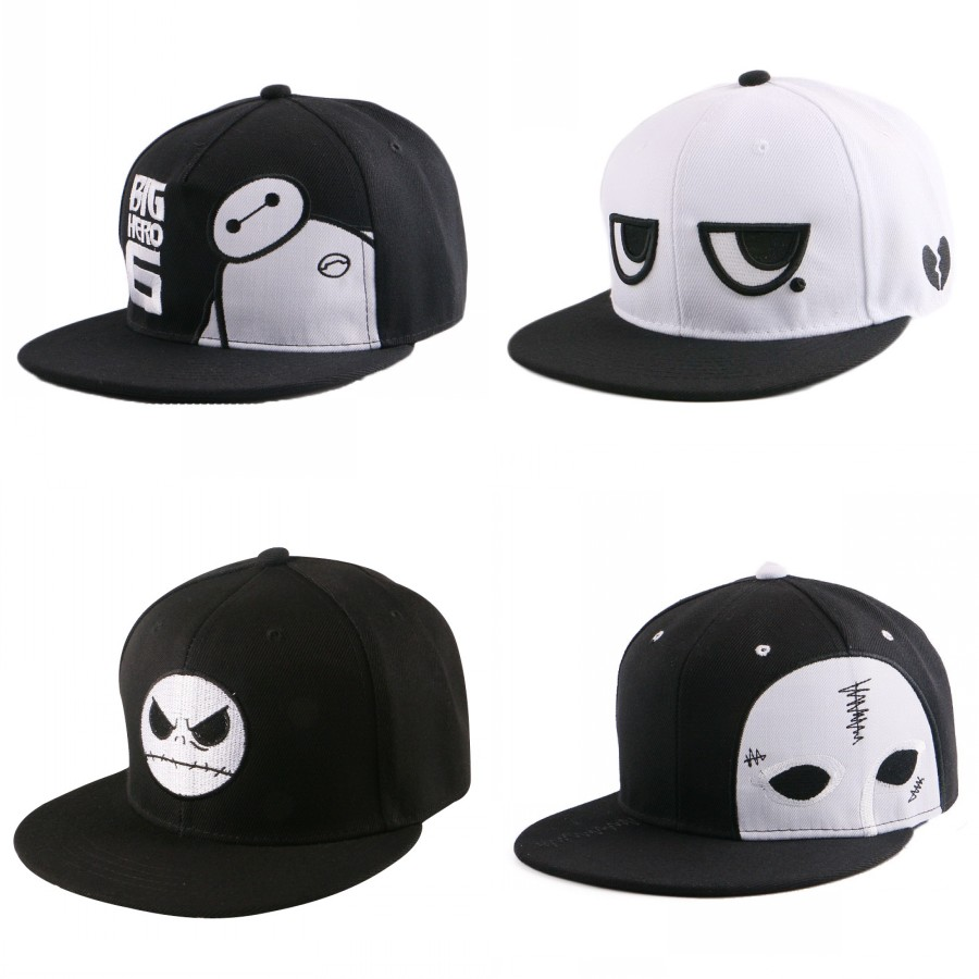 2016 fashion designer yellow cartoon anime character lovely snapback for women men beauty girl boys hip hop baseball caps gorras
