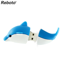 USB 2.0 Dolphin Pen Drive 4GB 8GB 16GB Flash Drive Memory Stick U Disk 64GB 32GB