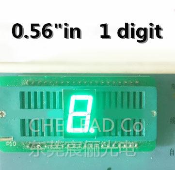 3 inch 1 digit Green Led display 7 segment Common athode new