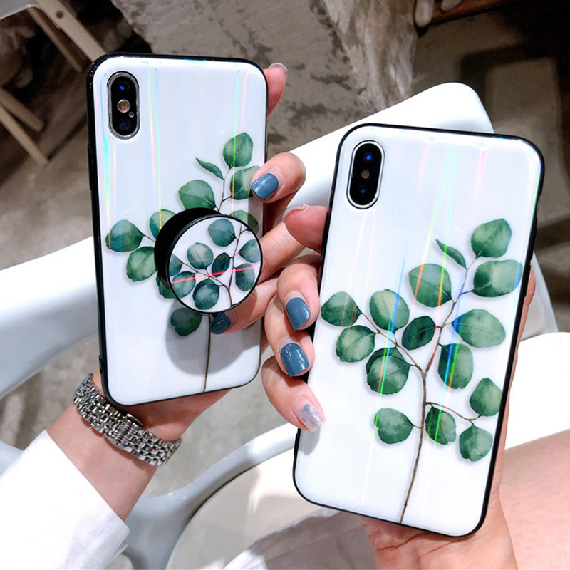 d31f533421ffb8 Aurora Phone Case For iPhone X 7 8 Plus 6 6S Plus Back Cover Finger Ring  Holder Airbag Bracket Grip Mount Detachable Stand Stand-in Fitted Cases  from ...