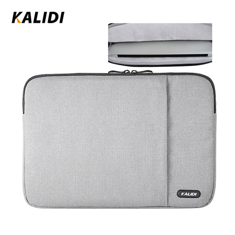 KALIDI Laptop Sleeve Bag 15.6 17.3 À Prova D 'Água Notebook Sleeve Para HP Dell Acer Asus Caso Laptop 15 17 Polegada Para MacBook Air Pro