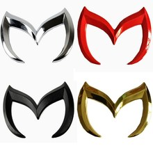 Universal 3D Car Stickers and Decals For Mazda Cars Auto Emblem Logo Car Vinyl Car Accessories 4 Colors