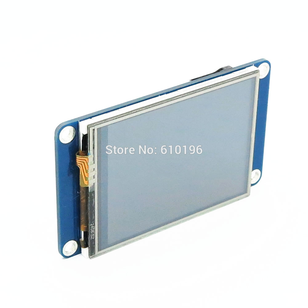 "Image 2 - Aihasd English Nextion 2.4"" TFT 320 x 240 Resistive Touch Screen UART HMI Smart raspberry pi LCD Module Display For Arduino TFTdisplay for arduinomodule displaylcd module display -"