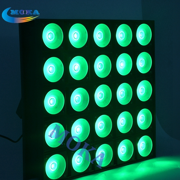 2pcs/lot 800W LED 5x5 Matrix Blinder Beam Light RGB 3 in 1 Stage Effect Light for Stage Show,Party dmx512 control 5x5 led matrix light 5x5 led matrix led blinder stage effect lighting