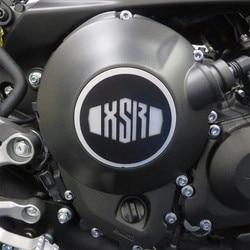 Proszek ze stali nierdzewnej powlekane motocykl pokrywa sprzegła Top czarny srebrny dla Yamaha XSR900 XSR 900 Osłony i ozdobne kształtki    -