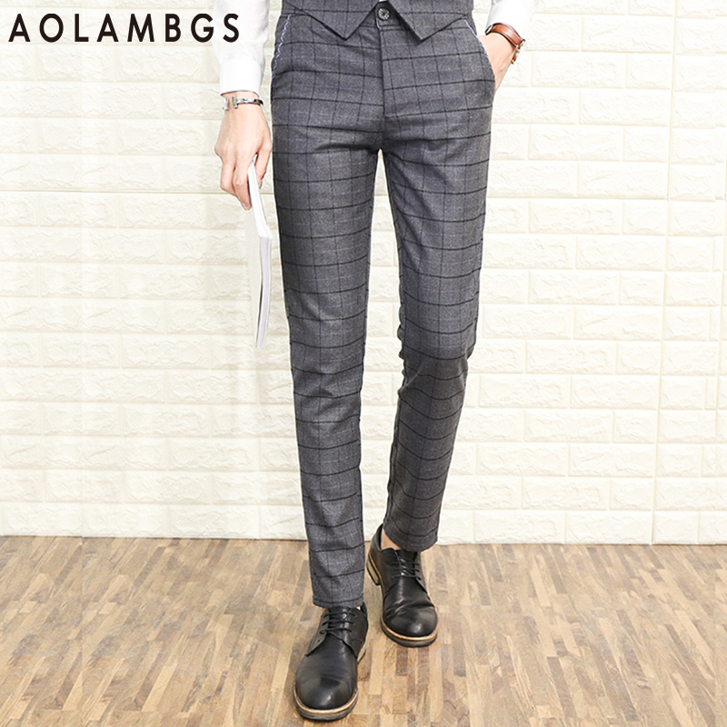 Online Buy Wholesale plaid dress pants from China plaid dress ...