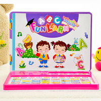 DOITNOW English Language Learning Book Educational Toys for Kids Learning Machine Table Toys with Music and Knowledge;18 months