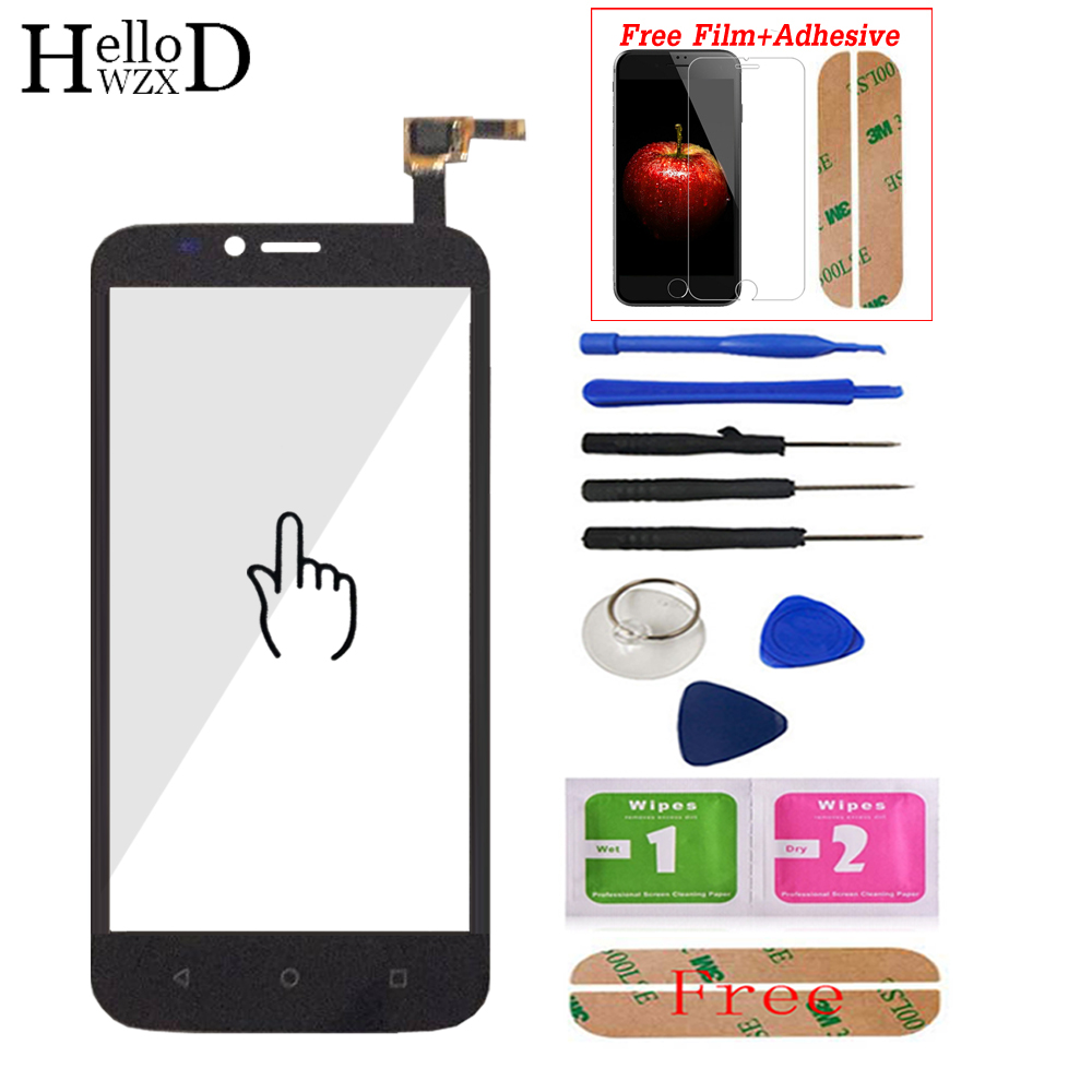 Mobile Touch Screen Screen For Huawei Ascend Y625 Y 625 Capacitive Lens Sensor Digitizer Panel Free Adhesive + Screen Protector
