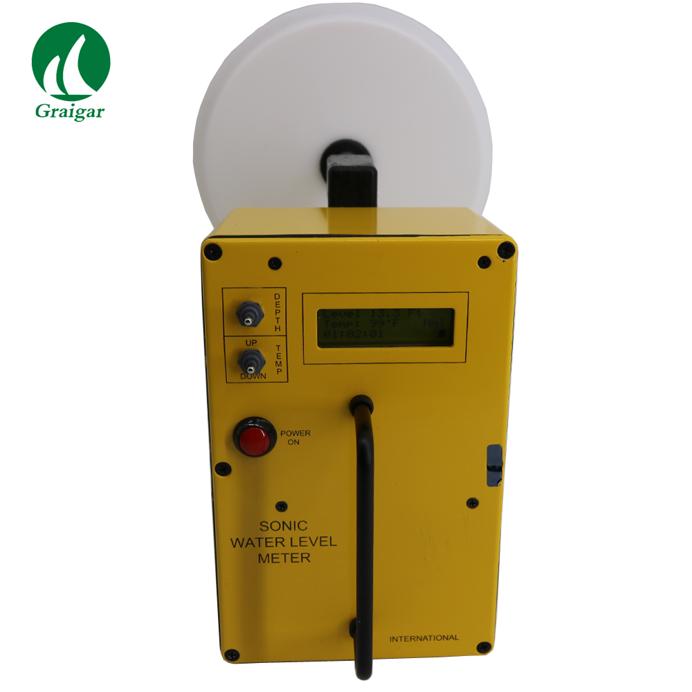 Compteur de niveau d'eau sonique Original WL650 pollué sondeur de niveau de puits et mètre de mesure de profondeur par l'eau globale
