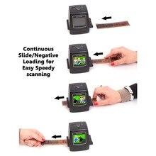 2016 Новый 5MP 35 мм Негативная Пленка Просмотра Слайд-Сканера USB Цифровой Цвет Фото Копир 8007250