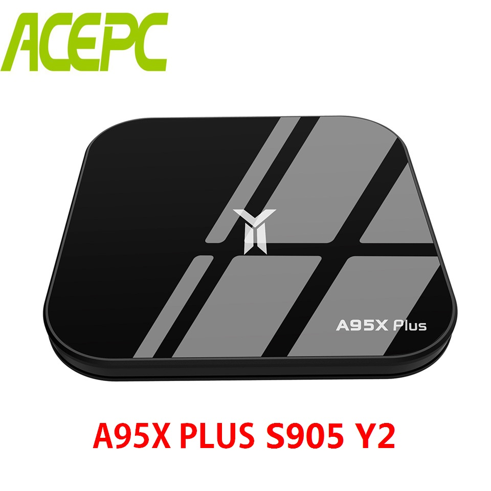A95X Plus TV Box Android 8.1 SET TV BOX Amlogic S905 Y2 4GB DDR4 RAM 32GB ROM 2.4G/5G WiFi USB3.0 BT4.2 Support 4K H.265 HDMI2.1A95X Plus TV Box Android 8.1 SET TV BOX Amlogic S905 Y2 4GB DDR4 RAM 32GB ROM 2.4G/5G WiFi USB3.0 BT4.2 Support 4K H.265 HDMI2.1