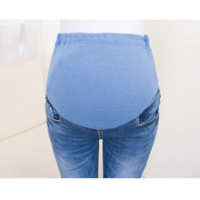 Jeans For Pregnant Women Stretch Denim Trousers Nursing Maternity Clothes Elastic Waist Pregnancy Pants Autumn Maternity Clothes