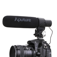 V-MIC D2 Sensitivity Adjustable Directional Condenser Microphone For Nikon D3300 / Canon DSLR Camera / Camcorder