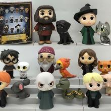 Funko Mystery Minis: Гарри Поттер-Добби, Рон, Лорд Волдеморт, рубеус один тайна фигурка свободная игрушка без коробки