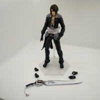 Anime Figure 25CM FINAL FANTASY DISSIDIA Squall Leonhart PVC Action Figure Collectible Model Toys Doll with box