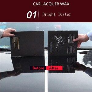 Image 4 - 車のワックス Cystal メッキセットハード光沢のあるワックス層をカバーする塗装表面コーティングペイントケア防水フィルムカースタイリング