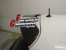 CARBON FIBER 03-07  Mini  Cooper Cooper S   REAR WING HATCH ROOF SPOILER cooper j wing and wing or le feu follet