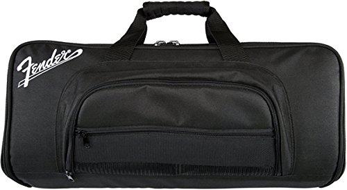 Fender Mustang Floor Controller Gig Bag niko black 21 23 26 ukulele bag silver edge nylon soprano concert tenor soft case gig bag 5mm thick sponge